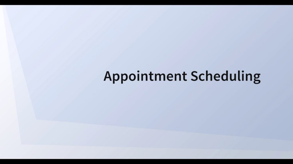 Appointment Scheduler 3